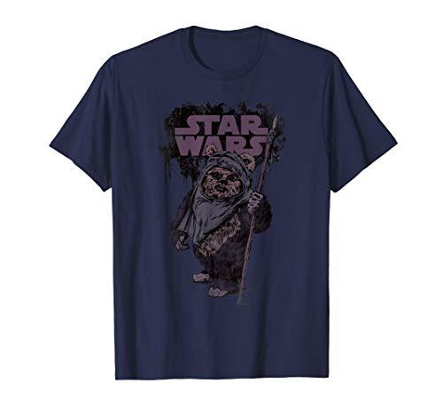 Star Wars Return of the Jedi Wicket W. Warrick Ewok T-Shirt (Aus Star Wars Wicket)