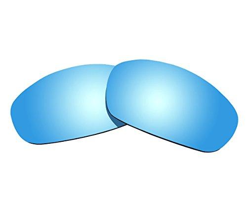 Sunnyblue2Ice Blau Polarisierte Ersatz Gläser für Oakley Gerade Jacke 2007Sonnenbrille