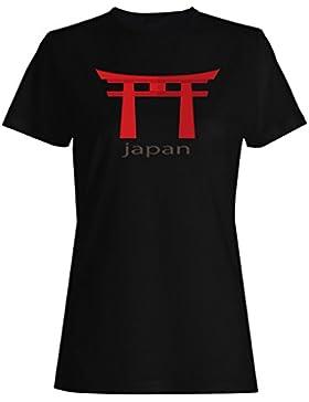Nuevo Hermoso Templo De Japón camiseta de las mujeres m316f