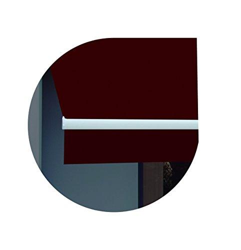 Wolder Brico Classic 3X2 Toldo, Burdeos, 300 x 200 x 10 cm