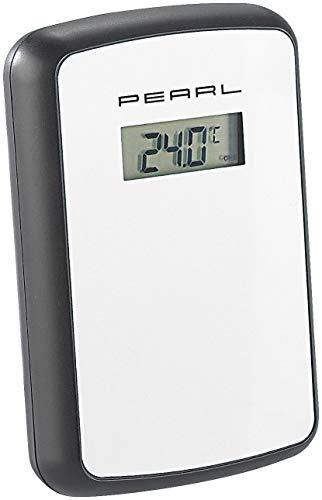 PEARL Zubehör zu Wetterstation 3 Sensoren: Funk-Außensensor für Wetterstation FWS-90 (Funk Thermometer mit Außensensor)