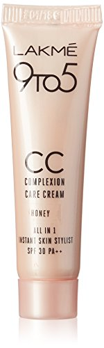 Lakme 9 to 5 Complexion Care Cream, Honey, 9g