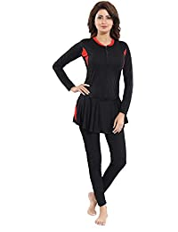Aquado Womens Full Body Polyester Swimsuit (U.V.Protection) Padded