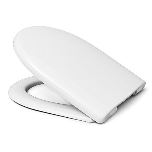 Preisvergleich Produktbild bath & more WC-Sitz Föhr, Edelstahlscharniere, 1 Stück, weiß, 150010592