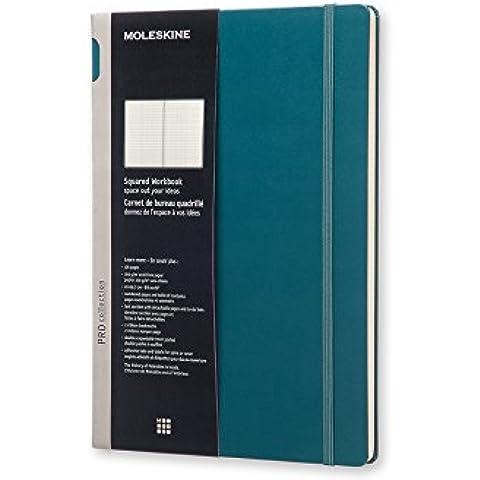 Moleskine 948731 - Cuaderno, tapa dura, A4, cuadrícula