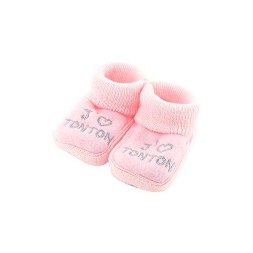 baby stivaletti rosa 0-3 mesi - come lo zio
