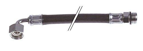 Tuyau EPDM Longueur 3 m Raccord 3/8' Intérieur 5 mm Droit pour enrouleur de tuyau extérieur 12 mm