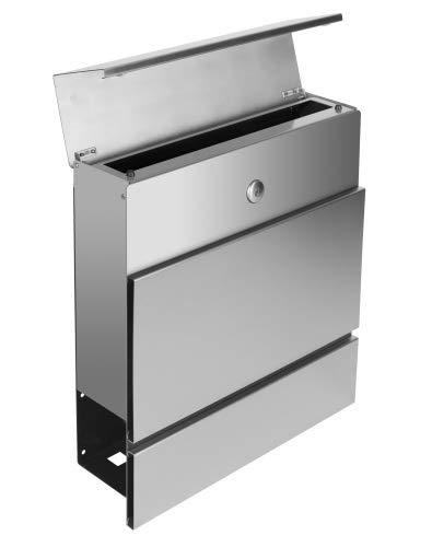 Frabox Edelstahl Design Briefkasten LENS - 3