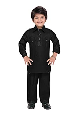 AJ Dezines Boys Pathani Suit for Kids (1201_$P)