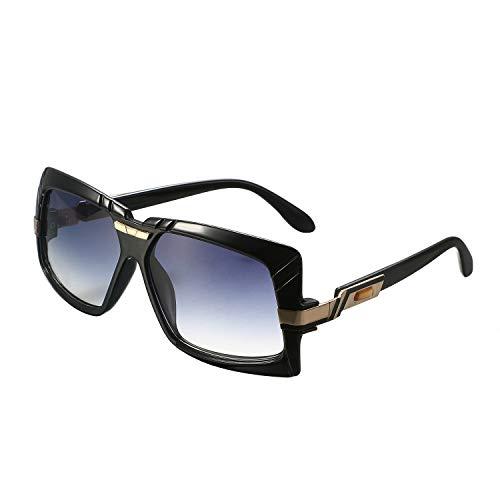 Aroncent Damen Outdoor-Sonnenbrille polarisiert UV 400 Groß Rahmen Farbe wählbar grau