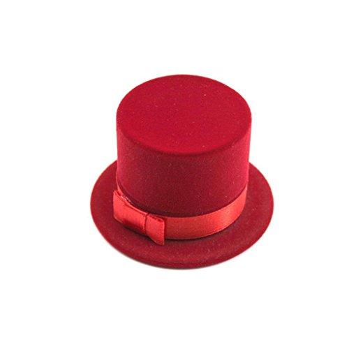 tfxwerws Creative Roman Magician Hat Form Ringe Ohrringe Schmuck Display Box - Hut Display-box