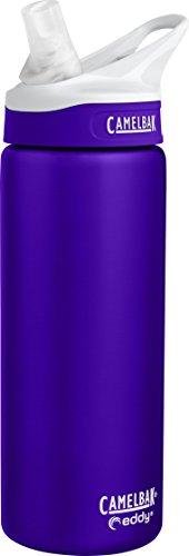 CamelBak Eddy Vacuum Insulated Stainless Trinkflasche, Iris, 0.6 Liter