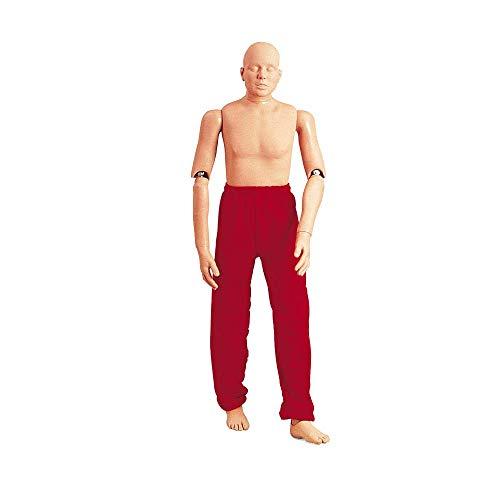 Erler Zimmer Rettungspuppe, Übungspuppe, Personenbergung, normaler Körper, 165 cm, 75 kg