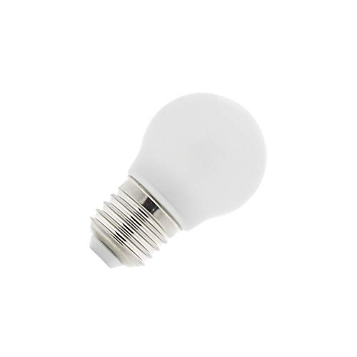 Bombilla LED E27 G45 Glass 4W Blanco Frío 6000K-6500K efectoLED