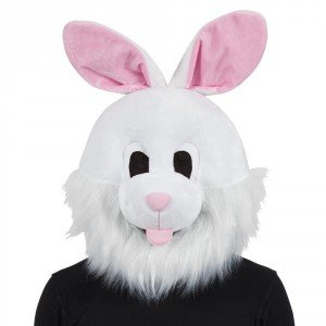 Erwachsene Luxus Bunny Kopf Maske Halloween Fancy Dress Party Kostüm ()
