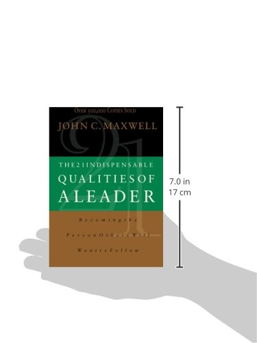 the 21 indispensable qualities of a leader Recognizing true leadership is an art learning the 21 indispensable qualities of a leader cultivates it, enabling you and your team to identify and become the leaders you were meant to be please note: this product is not available for commercial use without prior written permission by the john maxwell company.