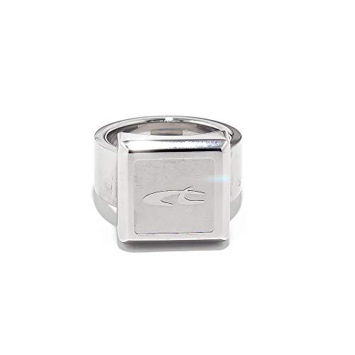 Chronotech 18300801011 anello da donna in acciaio colore argento taglia 11