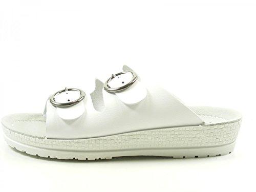 Rohde Neustadt 743200, Damen Pantolette, weiß, EU Weiß