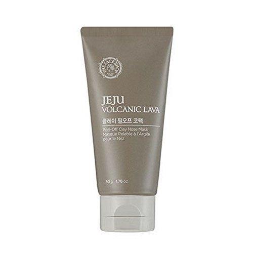 The Face Shop - Jeju Volcanic Lava - Blackhead Out - Peel-Off Clay Nose Pack - Porenreiniger Nase - Neues Design 2016 - Anti Mitesser und Pickel Gesichtsmaske