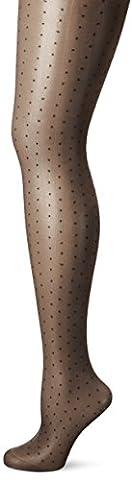Fiore Feinstrumpfhose Dezire / Golden Line Classic, Collants Femme, 30 DEN, Noir, Medium