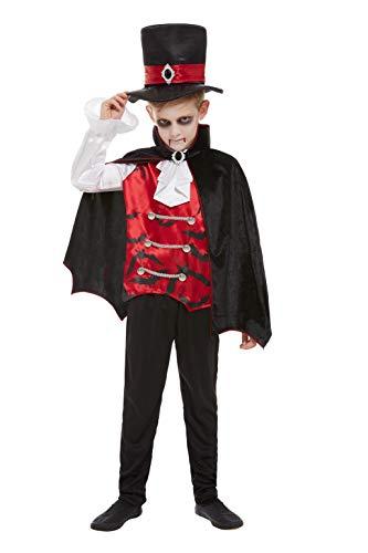 Smiffys 51053M - Disfraz de vampiro para niño, talla M, color negro