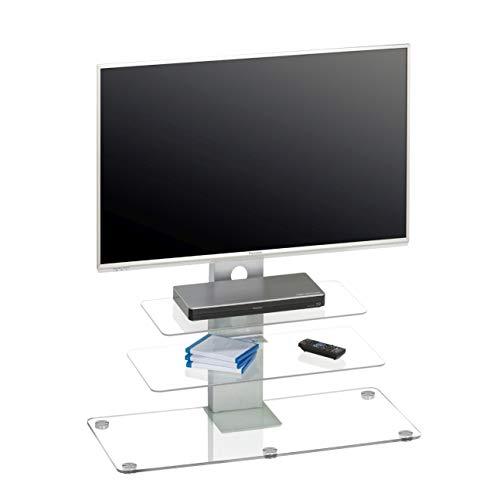 MAJA Möbel TV-Rack Glas Transparent