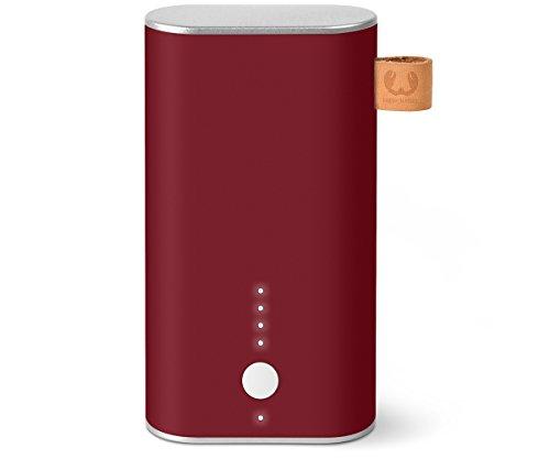 Fresh 'n Rebel 6.000 mAh - Powerbank (inkl. Micro-USB-Kabel und Handbuch - mit mehrfachen Sicherheitsfunktionen - Ladestatusanzeige) Rot -