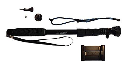 Supremery SupPole Y2 Teleskop Selfie Pole Selfie Stange Handstativ Einbeinstativ für iPhone 7 /6S / 6S Plus, Huawei , Samsung Galaxy, Microsoft Lumia