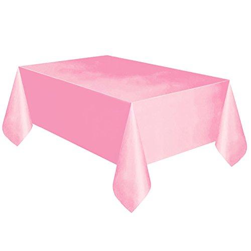gzzebo Nappe rectangulaire résistant à l'eau/A épreuve d'huile/résistant à de déversements Protecteur de Table pour Salle à Manger, Cuisine, Mariage et fêtes Rosé