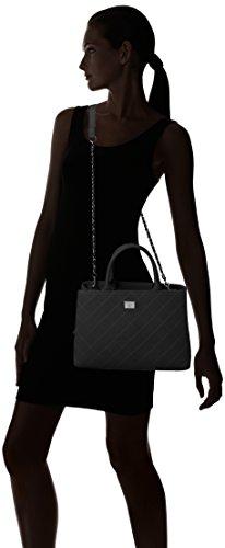 marc b. - Cherrybrook, Borsa con Maniglia Donna Black (black)