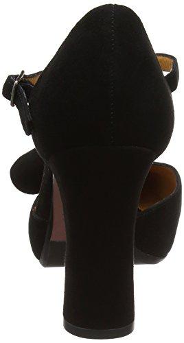 Chie Mihara - D-dubi31, Scarpe con cinturino Donna Black (Ante Negro)