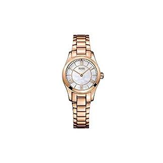 Hugo Boss Reloj analogico para Mujer de Cuarzo con Correa en Acero Inoxidable 1502378