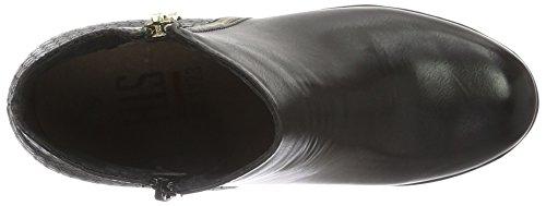 HIS 46205, Bottes Classiques femme Noir - Noir