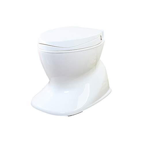 MyAou-commode Leichte und tragbare Camping-WC Geeignet für Indoor-und Outdoor-Loo Verwendung Camping Caravan Picknick Angeln und Festivals Weiß