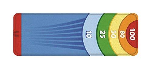 House Of Kids 12375-e3Spiele Riesen Kofferraumwanne, Dart-Spiel Polyester Mehrfarbig 300x 0,5x 100cm