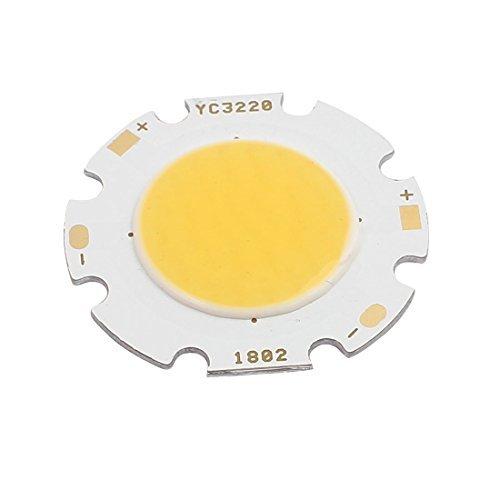 Deal Mux DC 54-60 V 18 W ronde 32 mm Dia High Power COB LED Lampe de projecteur à puce lumière blanc chaud