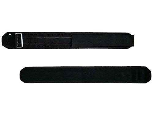 Profi Gewichthebergürtel aus Nylon mit Klettverschluss