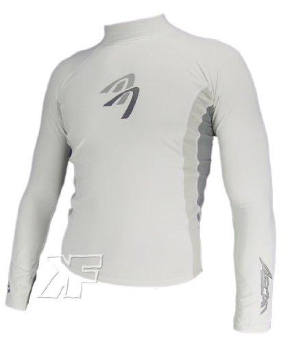Ascan LYCRA Shirt Style white LANGARM Neu! UV-Schutz SU…   04049573220046