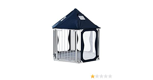 sc 1 st  Amazon UK & BabyDan BabyDen Playpen Top Tent (Blue): Amazon.co.uk: Baby