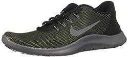 Nike Damen Laufschuh Flex Run 2018 Sneakers, Schwarz (Black/Dark Grey/Anthracite 001), 39 EU
