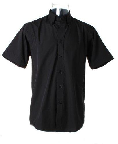 Kustom kit kK100–chemise à manches courtes pour bébé en popeline de coton Noir - Noir