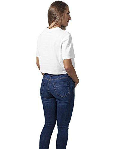Urban Classics Damen T-Shirt Ladies Short Oversized Tee Weiß (white 220)
