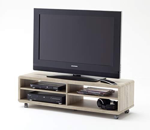 Robas Lund Lowboard Meuble TV Imitation Chêne Sonoma