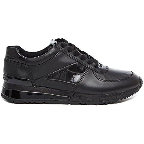 Michael Kors Sneaker Allie Wrap Trainer Black
