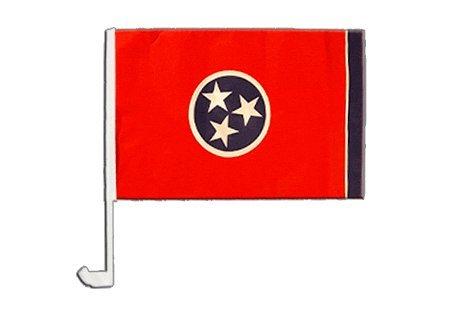 Autofahne Autoflagge USA Tennessee - 30 x 40 cm
