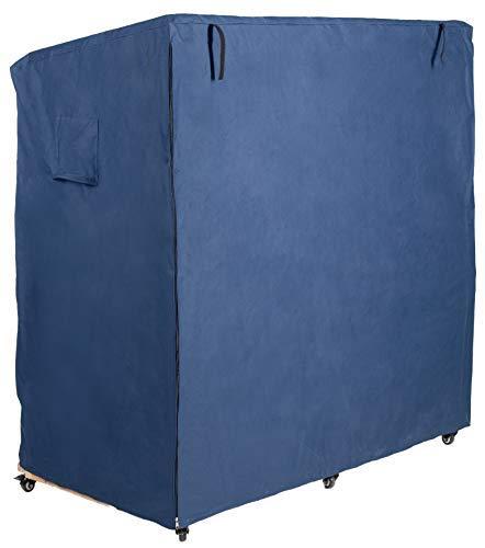Strandkorb Schutzhülle L blau aus 600 D Oxford Gewebe, Premium Strandkorbhülle Wind- und Wetterfest