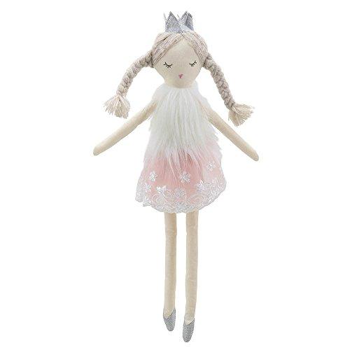 Wilberry Puppen–Ballerina mit Krone Soft-Spielzeug (Doll Soft Ballerina)