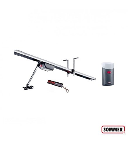 Kit de motorisation Duo Vision 500 pour portes sectionnelles - SOMMER - Taille de rails - 2600