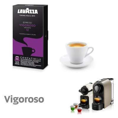 300 capsule caffè lavazza compatibili nespresso miscela vigoroso + bellissima tazza in regalo