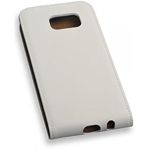 'de alta calidad premium Funda Flip Case Funda Color blanco para
